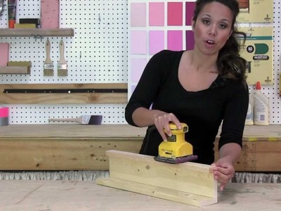 How to Sand Furniture Before Painting with Palm Sander