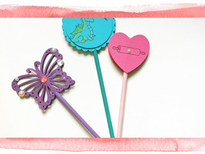 Kids Craft Idea: Make a Cute Custom Wand!