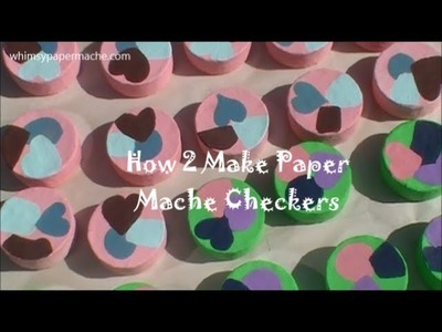 Make Your Own Checkers Game to Play