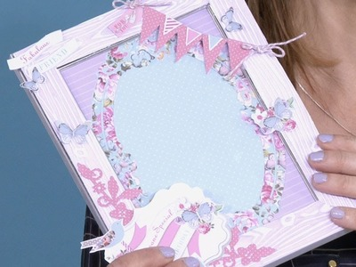 Making a Floral Picture Frame | In The Studio