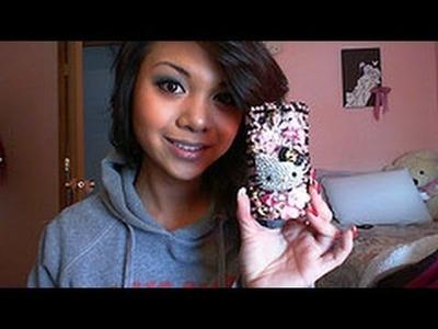 ♥ my HELLO KITTY cell phone cover ♥ - Charmaine Manansala