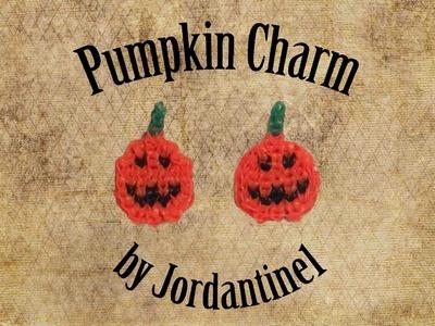 New Pumpkin Charm - Alpha Loom. Rainbow Loom - Halloween. Fall - Quick & Easy