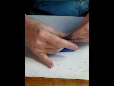 Part 2, Folding Polymer Clay Cranes