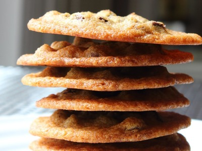 Perfect Chocolate Chip Cookies - Easy No-Mixer Chocolate Chip Cookies