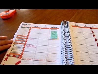 Plan with Me Plum Paper Family Planner Feb 2-8