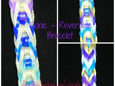 Rainbow Loom - Sonic Bracelet (Reversible) | How to