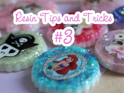 Resin Tips and Tricks #3 - Doming, choosing colours, clay in resin, where to get supplies