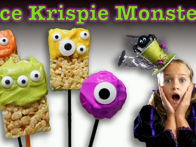 RMC Halloween Special 2. How to make Rice Krispie Monsters