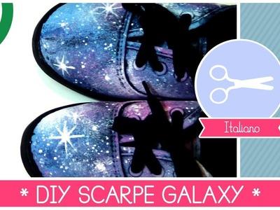 SCARPE INTERSTELLAR fai da te: GALAXY SHOES * SCARPE COSMICHE DIY (fashion idea)
