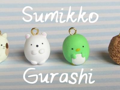 Sumikko Gurashi Characters Tutorial (Part One) - Neko, Shirokuma, Pengin & Tonkatsu: Polymer Clay.