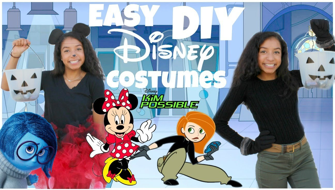 super easy diy disney halloween costumes 2015