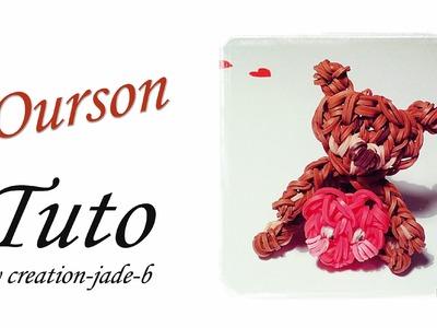 Tuto Rainbow Loom - Ourson Cœur (Saint Valentin) !