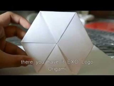 [TUTORIAL] How to make EXO Logo Origami