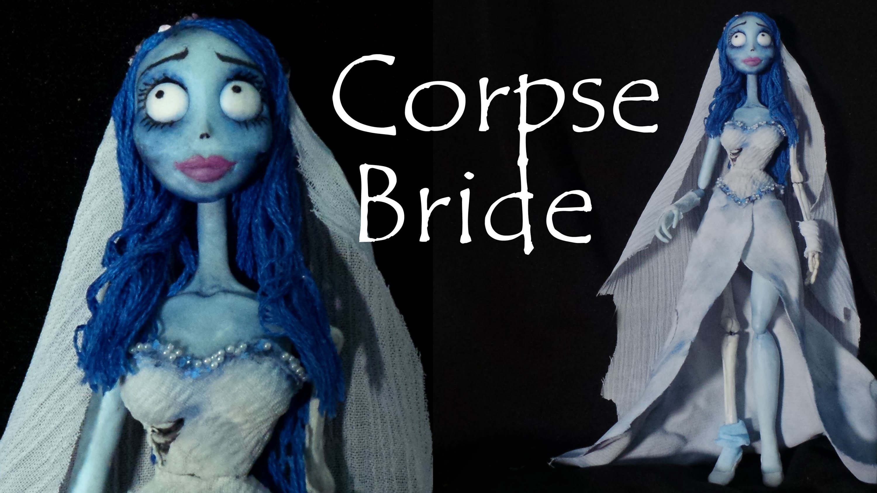 Corpse Bride Inspired (Poseable) Doll - Polymer Clay Tutorial