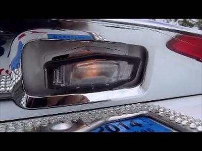 DIY 2013 2014 2015 Honda Accord Sedan License Plate light led swap