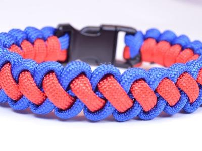 """DIY a """"Curling Millipede"""" Survival Paracord Bracelet - BoredParacord"""