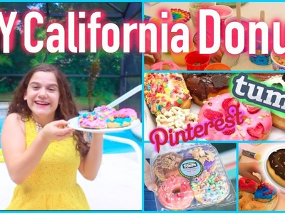 DIY California Donuts|Tumblr and Pinterest Inspired