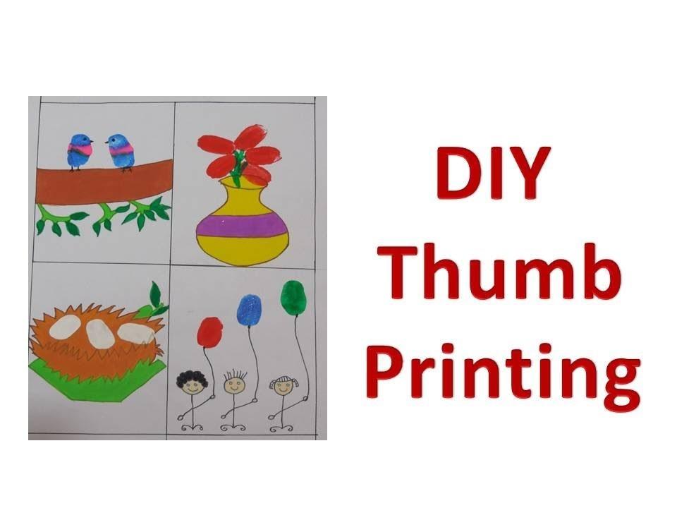 DIY -  How to do Thumb Printing