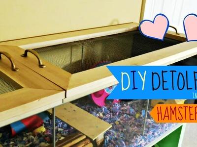 DIY IKEA Detolf Lid (Hamster Cage)