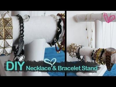 DIY Necklace and Bracelet Stand