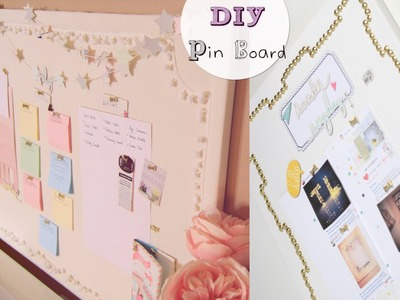 DIY Pin Boards & Star Garland
