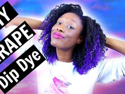 DIY Purple Dip Dyed Hair | Pravana Vivids | Tashalala