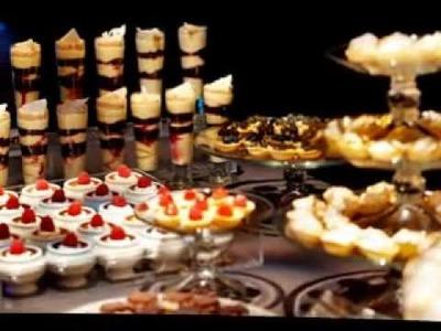 DIY wedding party dessert bar decorating ideas