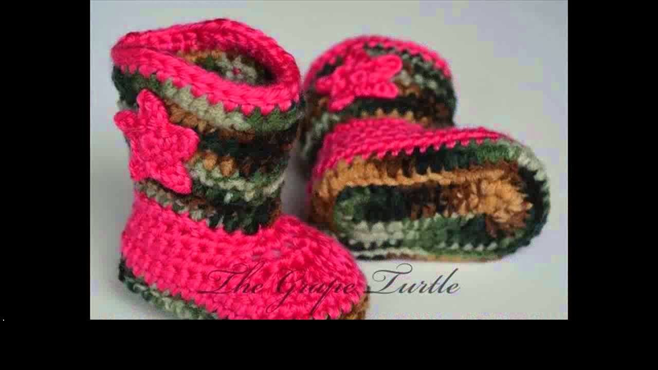 Free crochet pattern for baby booties