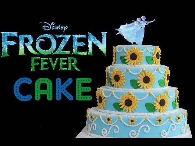 FROZEN FEVER CAKE - From the new short Frozen Fever Film