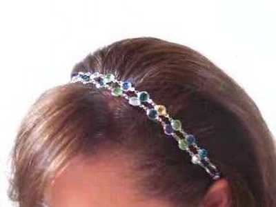 Hair Gems Crystal Hair Band