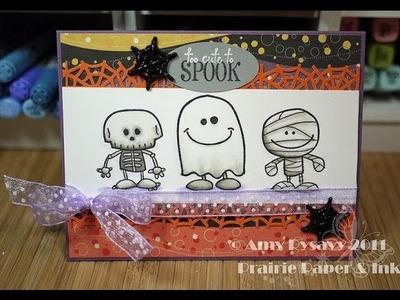 Halloween Card Series - Card #1
