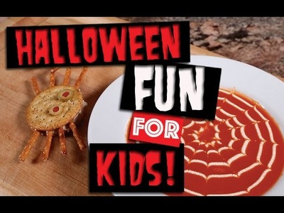 Halloween Craft, Snack & Science Experiment! | Kids Outside The Box