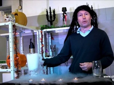 Halloween Party Ideas Using Dry Ice - Halloween drinks, Halloween Pumpkins!