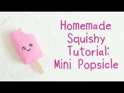 Homemade Squishy Tutorial: Mini Popsicle