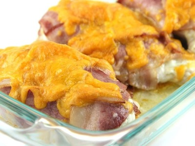 How To Bake A Delectable Cheesy Bacon Ranch Chicken - DIY Food & Drinks Tutorial - Guidecentral