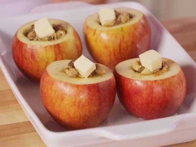 How to Bake Apples at Home