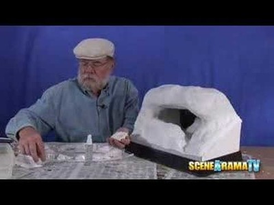How To Build A Cave Diorama (Part 2 of 5) - School Project | Scene-A-Rama