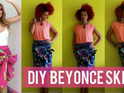How To DIY Beyonce's Stella Jean Inspired Skirt | DIY African Prints