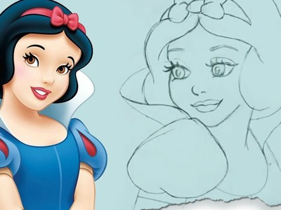 How to Draw Snow White by HooplaKidz Doodle | Step by Step | Drawing Tutorial