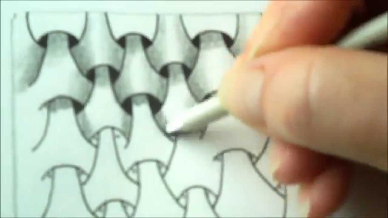How to draw tanglepattern Y-Ful Power