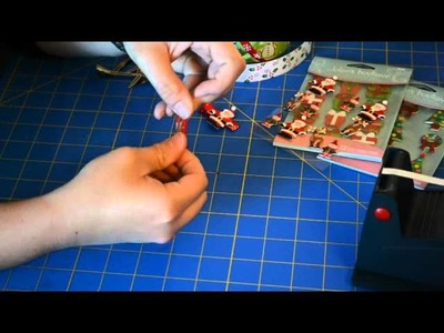 How To Make A Holiday Hair Clip with Cabochons