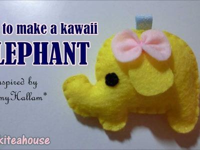 How to Make a Kawaii Elephant Plushie Tutorial