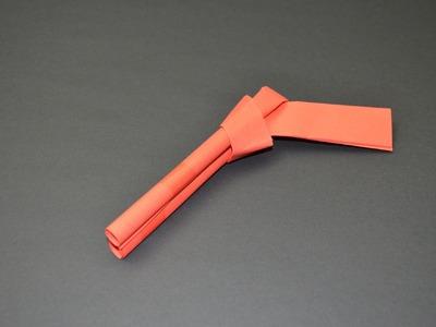 How to make a Paper Gun. Pistol.