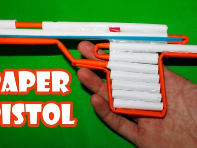 How to Make an Airsoft Gun - Paper Pistol