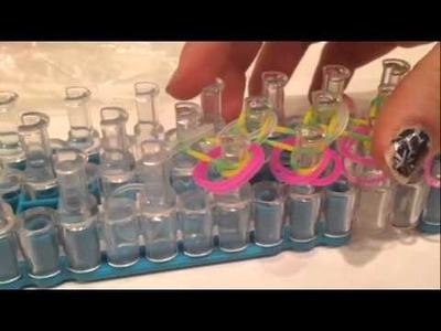 How To Make The Single Shirt Rainbow Loom Bracelet