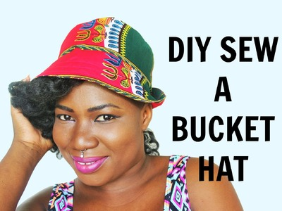 How to Sew a bucket hat. DIY Sew a Bucket Hat
