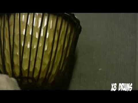 How to Tune a Djembe, PART 2 - Djembe Tuning Demonstration