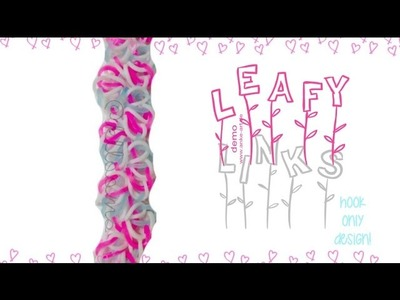 NEW HOOK ONLY Leafy Links Bracelet Tutorial | How To