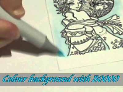 Outlining with Copic Markers to make image POP