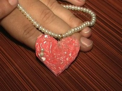 Pendant (Heart Shape) for Necklace by Paper DIY
